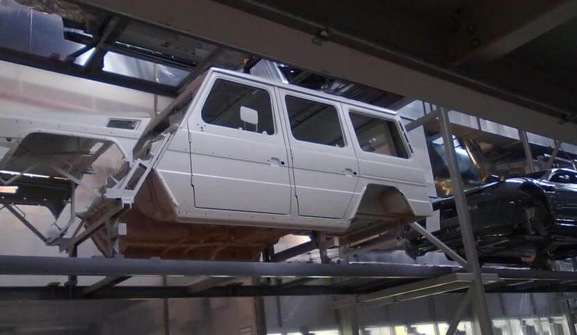Оцинковка кузова автомобиля
