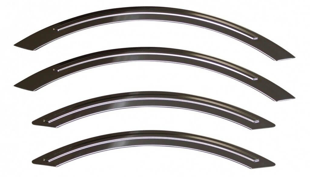 Пластмассовые накладки на арки Mercedes Sprinter