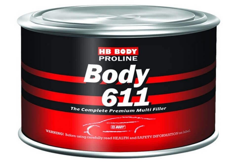 Шпатлевка компании HB-BODY