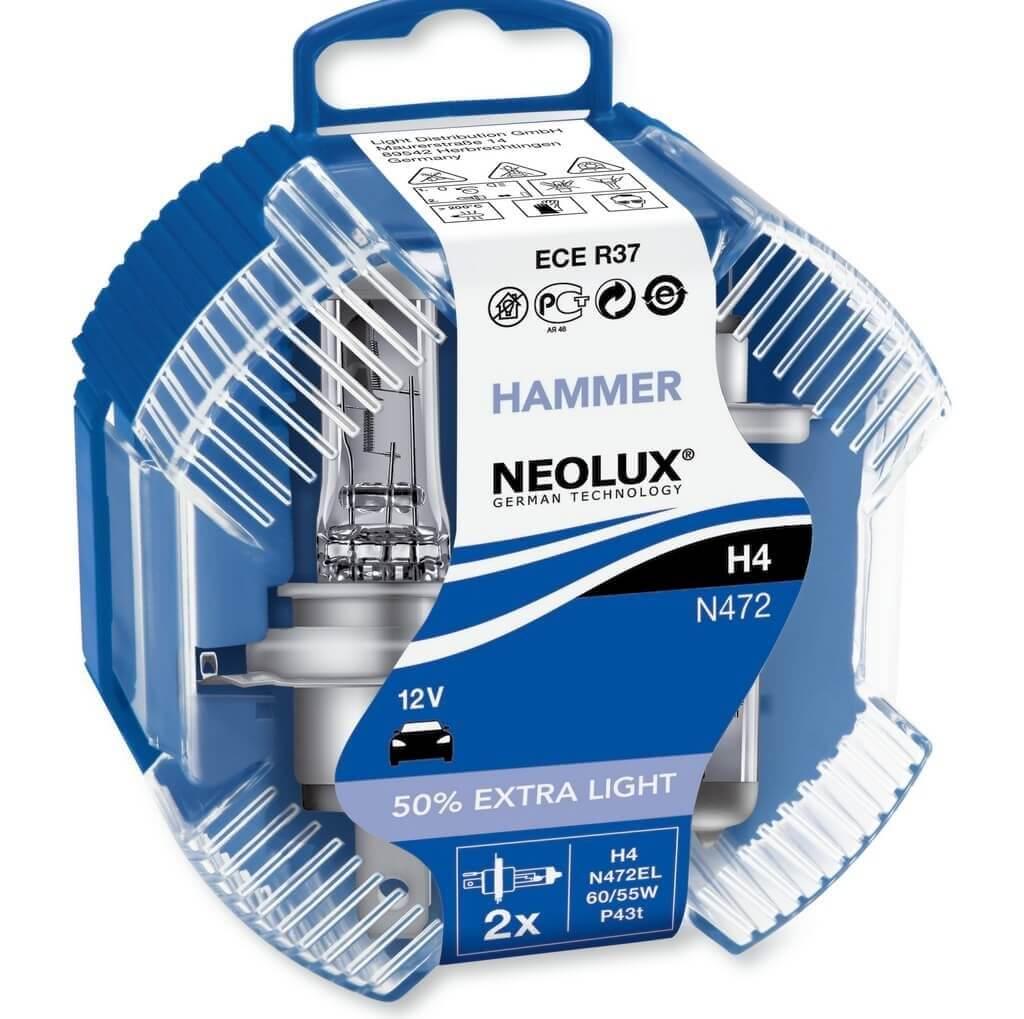 Автомобильные лампы Neolux