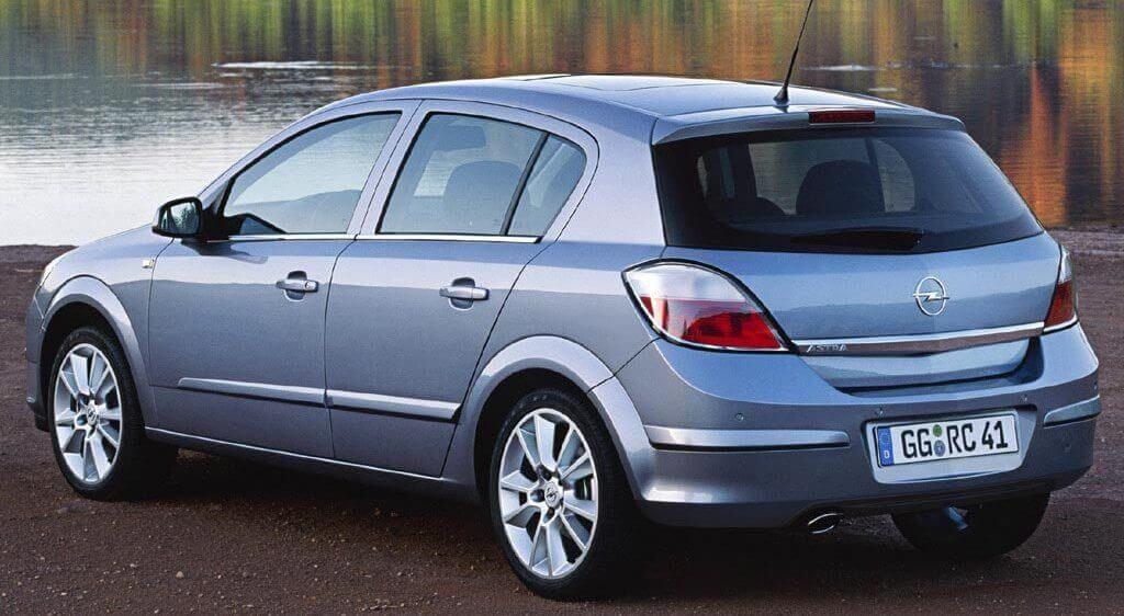Opel Astra с горячим типом оцинкования