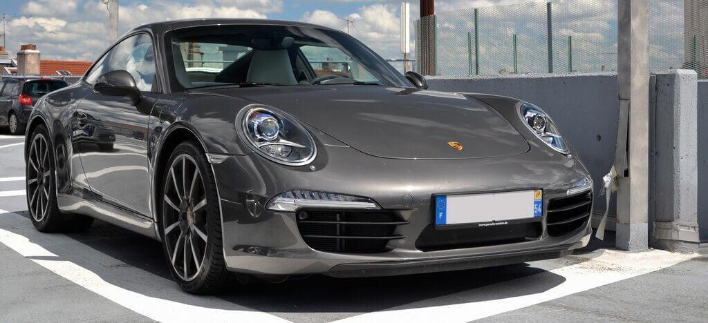 Porsche 911 с горячим типом оцинкования
