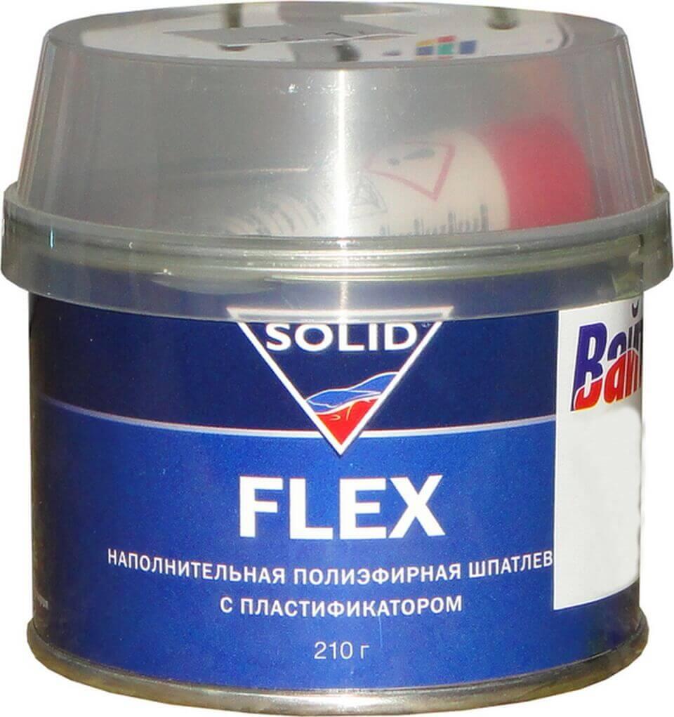 Шпатлевка по пластику Solid Flex