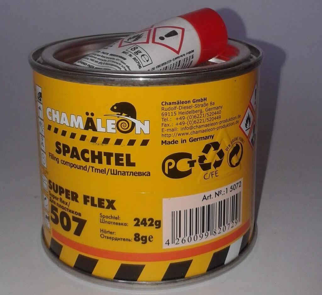 Шпатлевка по пластику Chamaleon 507 Spachtel Super Flex