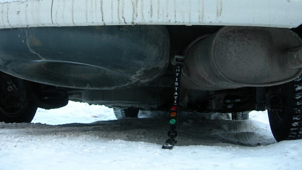 Катодная защита от коррозии автомобиля