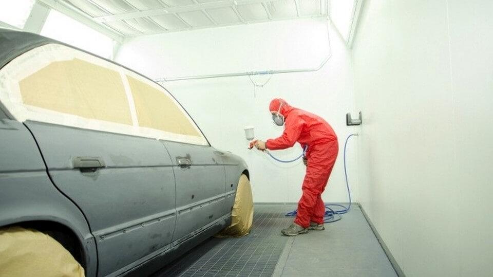 Грунтование кузова машины перед покраской