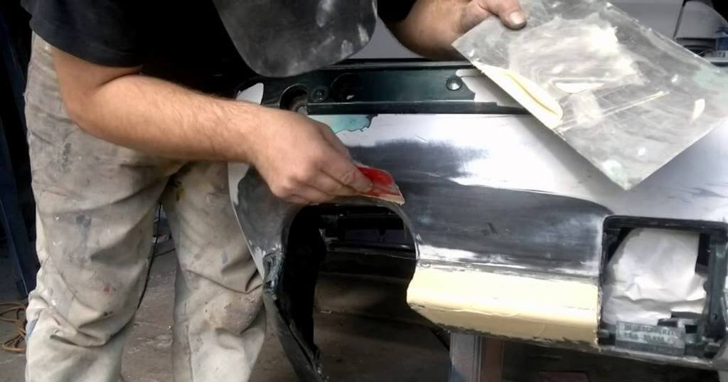 Ремонт бампера BMW M5