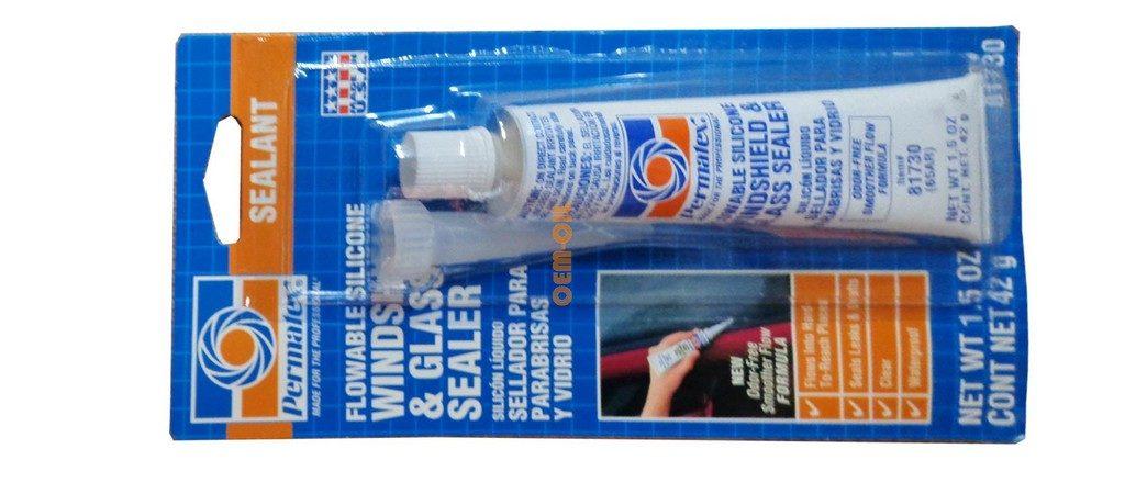Клей герметик для стекол и фар PERMATEX 65