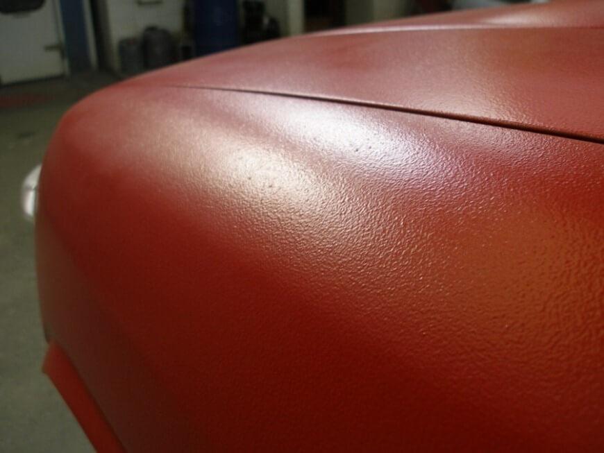 Шагрень при покраске авто