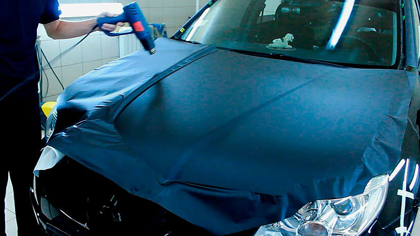 Сколько нужно пленки чтобы обклеить машину
