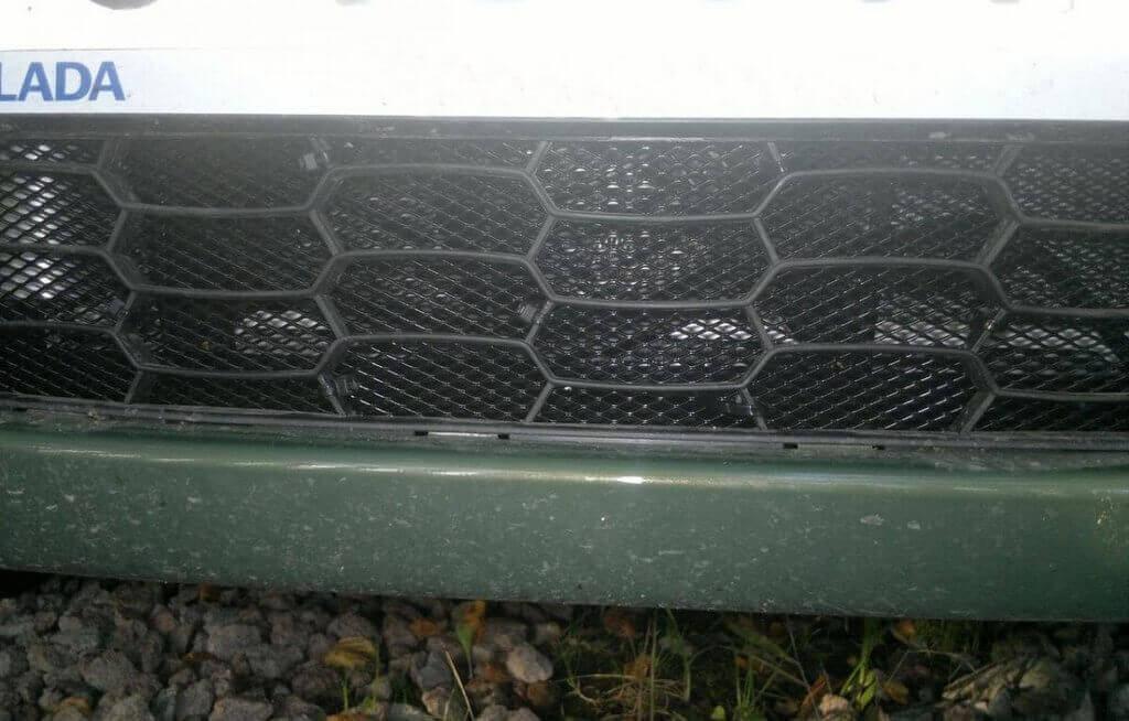 Решетка радиатора на Калину