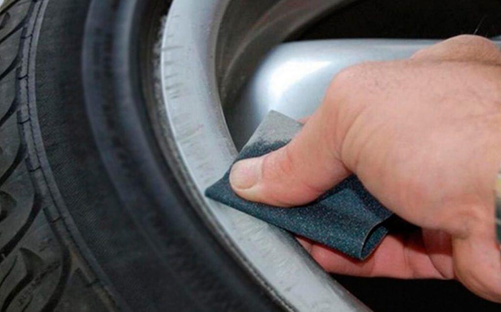 Шлифовка колесных дисков