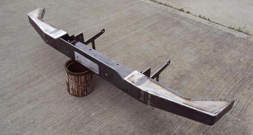 Изготовление силового бампера на Ниву 2121