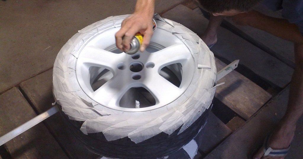 Покраска дисков своими руками