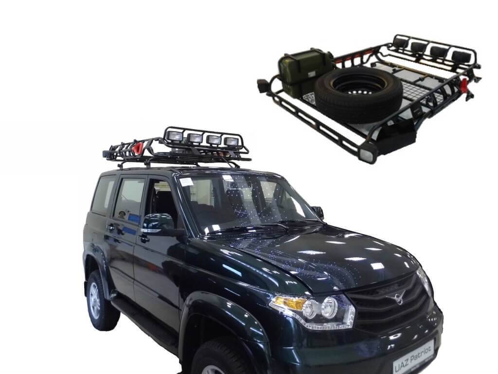 Багажник на крышу для УАЗ Патриот