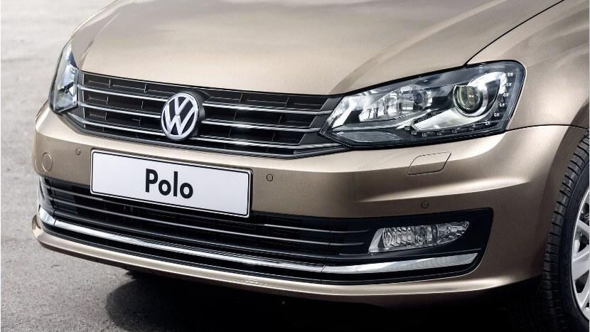 dnevnye hodovye ogni na Volkswagen polo sedan