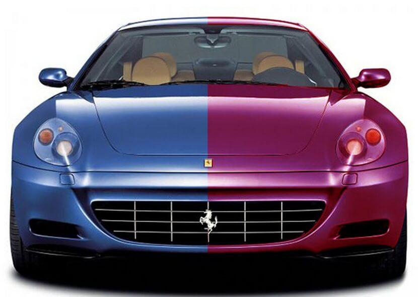 Перекраска авто в другой цвет
