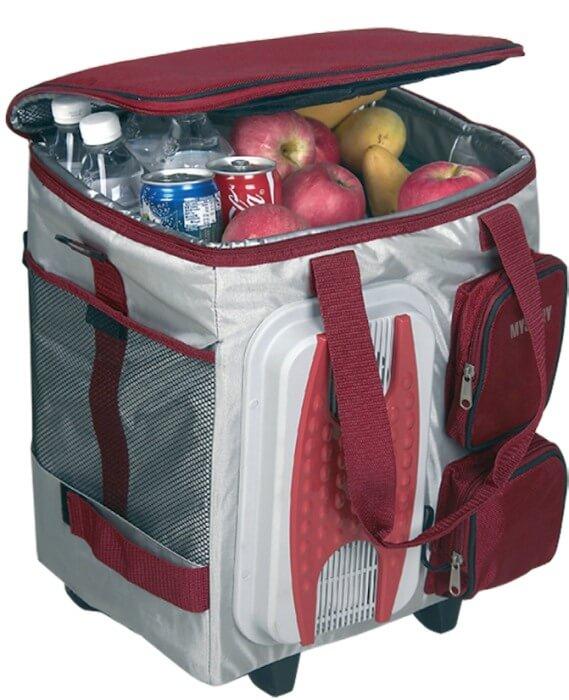 Автомобильный холодильник-сумка термоэлектрический Mystery MTH-40B