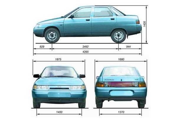 После любых ремонтных работ связанных с кузовом, обязательно проверяйте его линейные размеры