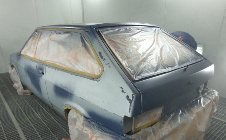 Ремонт кузова ВАЗ 2109 при наличии сколов и царапин ЛКП