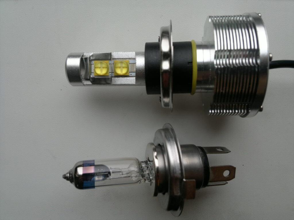 При установке плохой лампы вы можете нарушить свето-распределение