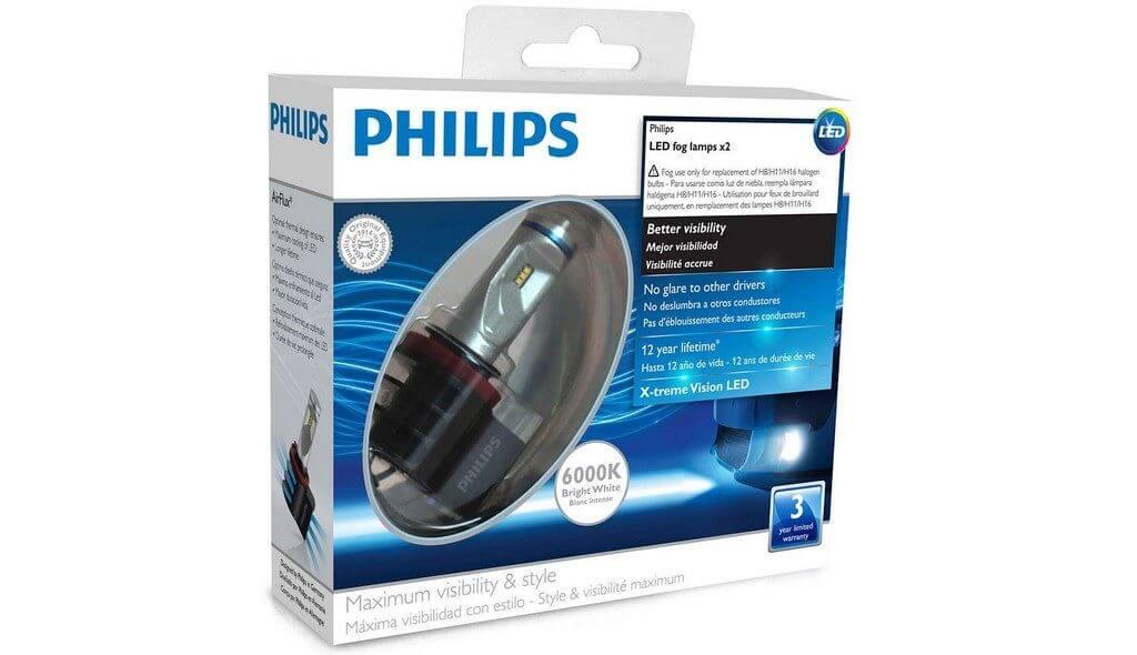 Светодиодные лампы Philips Ultinon H11