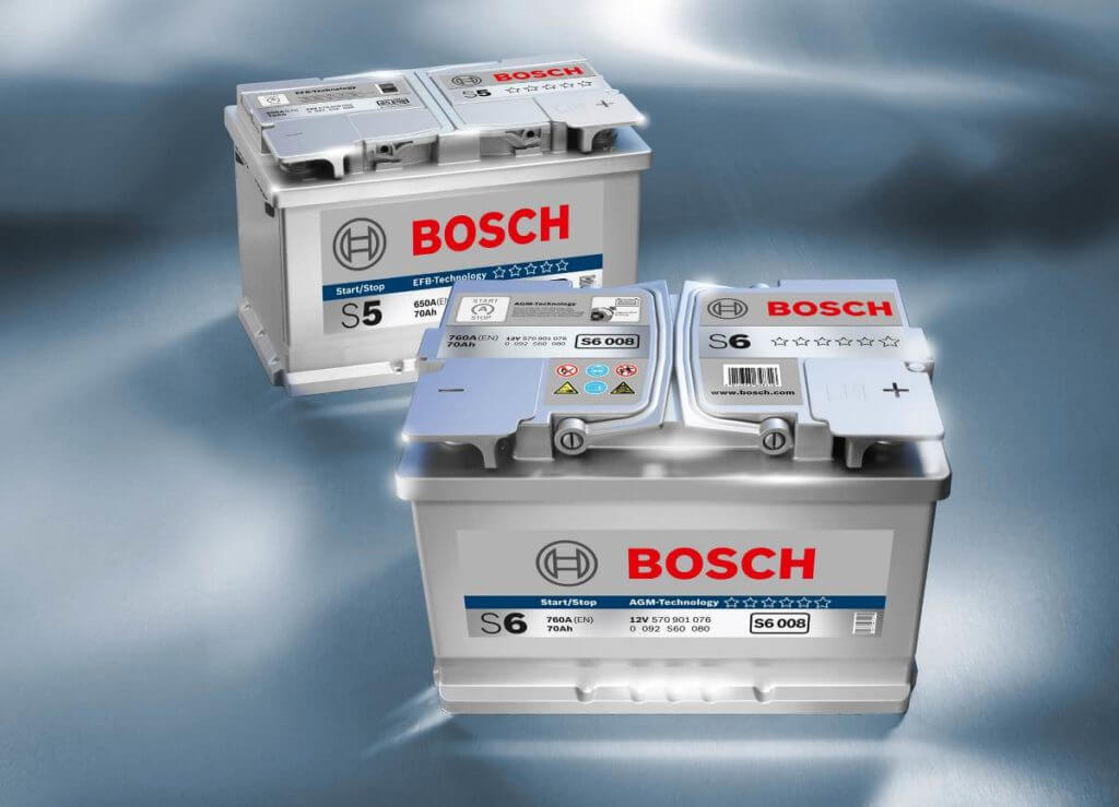 Современные автоаккумуляторы Bosch S5 и S6