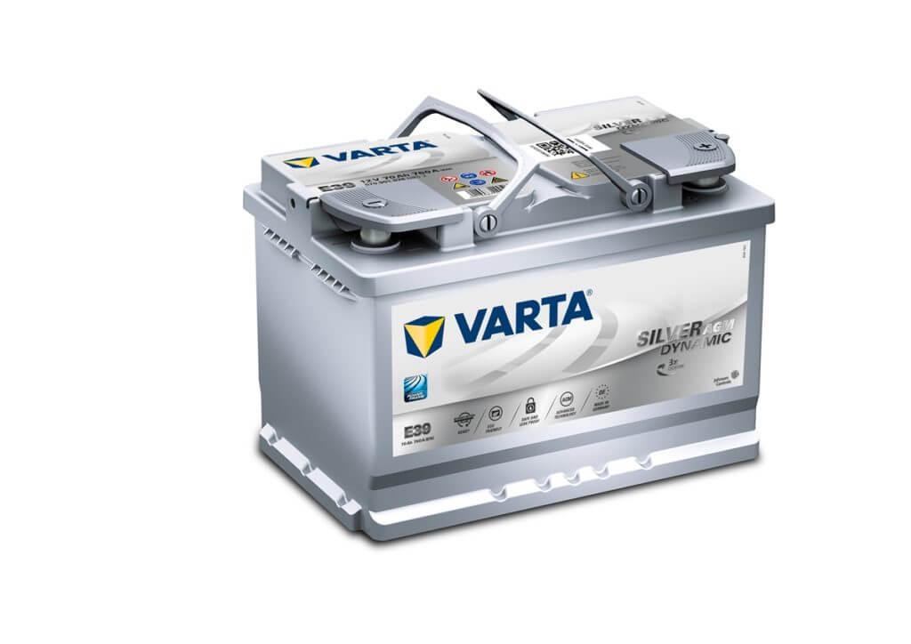 Автомобильный аккумулятор VARTA Silver Dynamic AGM