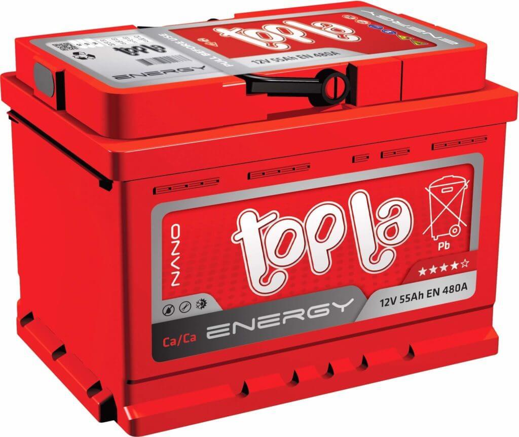 Автомобильный аккумулятор Topla Energy (66 А/ч)