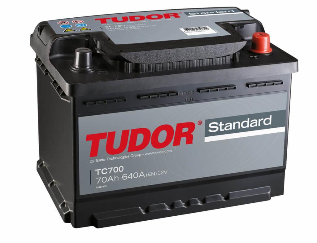 Автомобильный аккумулятор TUDOR Standard TC700