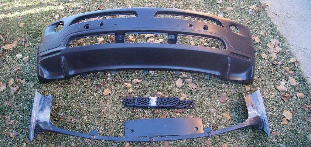 Бампер из ABS пластика на бмв Х5