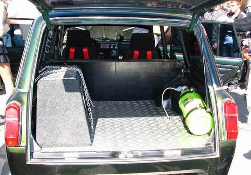 vaz 2107 avto tyuning9 - Что можно сделать с ваз 2107