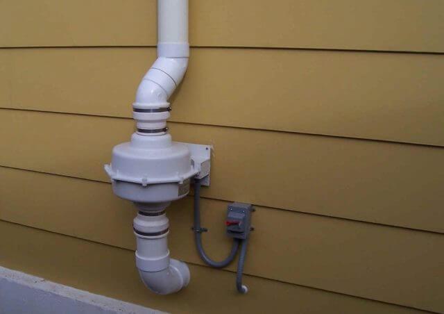 Принудительная система вентилирования обеспечит более эффективную вентиляцию гаража