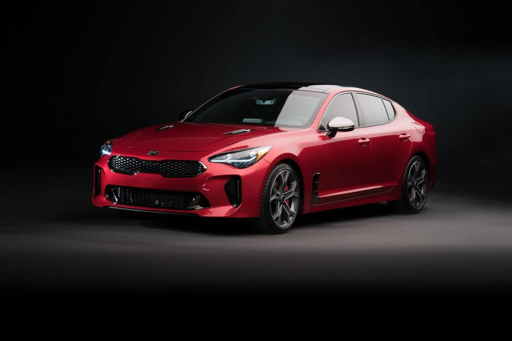 Kia Stinger GT North America (CK) '2017