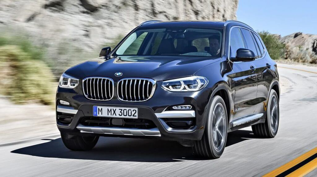 BMW X3 xDrive30d xLine Worldwide (G01) '2017