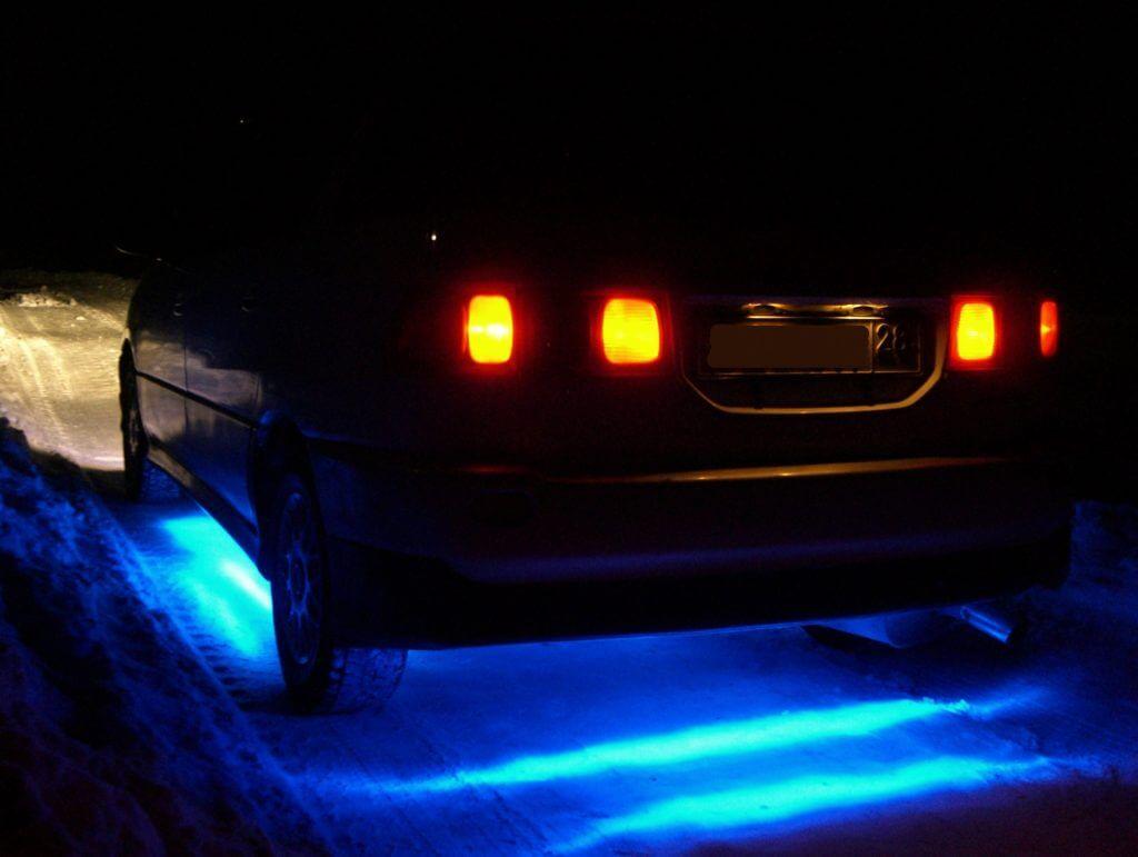 Зато подсветка способна полностью преобразить внешний облик автомобиля