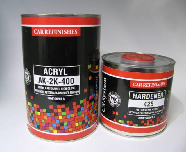 Для покрытия поверхностей с помощью краскопульта хорошо зарекомендовали себя следующие лакокрасочные материалы: акриловые , нитроэмали