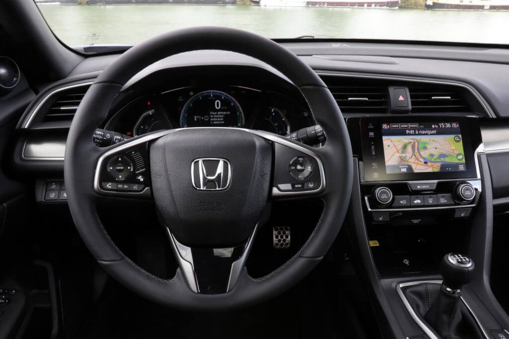 Dashboard Honda Civic Hatchback Worldwide (FK) '2017