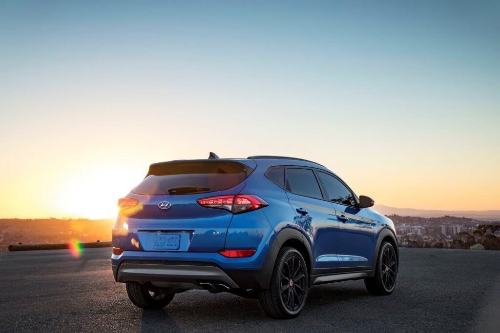 Автомобиль Hyundai Tucson 2017