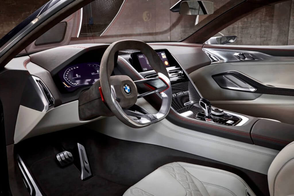 Interior BMW Concept 8 Series '2017