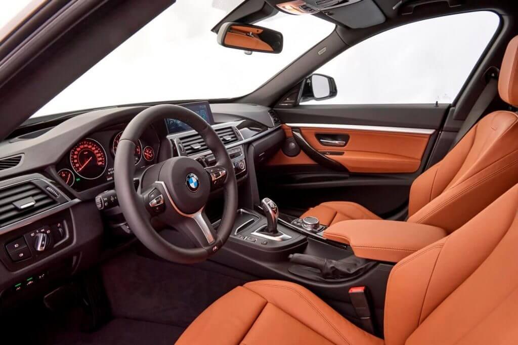 Interior BMW 340i Gran Turismo Sport Line (F34) '2016
