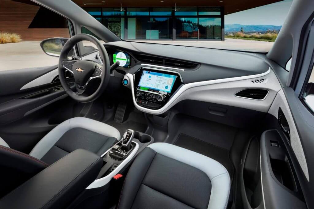 Interior 2017 Chevrolet Bolt EV