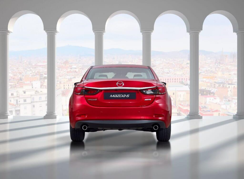 Автомобиль Mazda 6 Sedan 2017