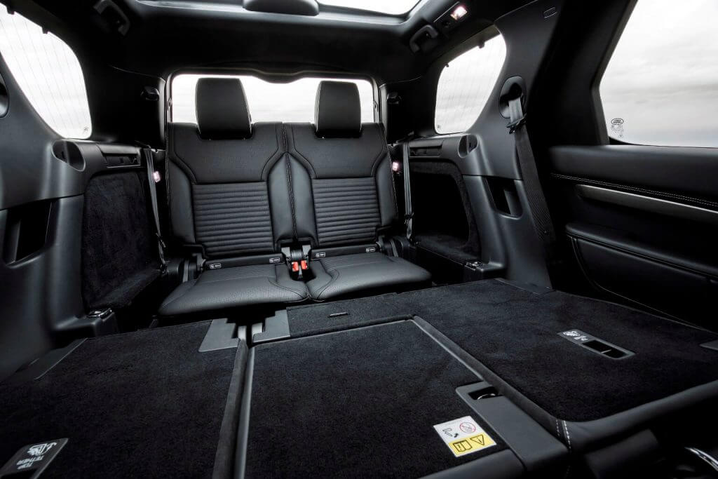 Interior 2017 Land Rover Discovery HSE Si6 Dynamic Design