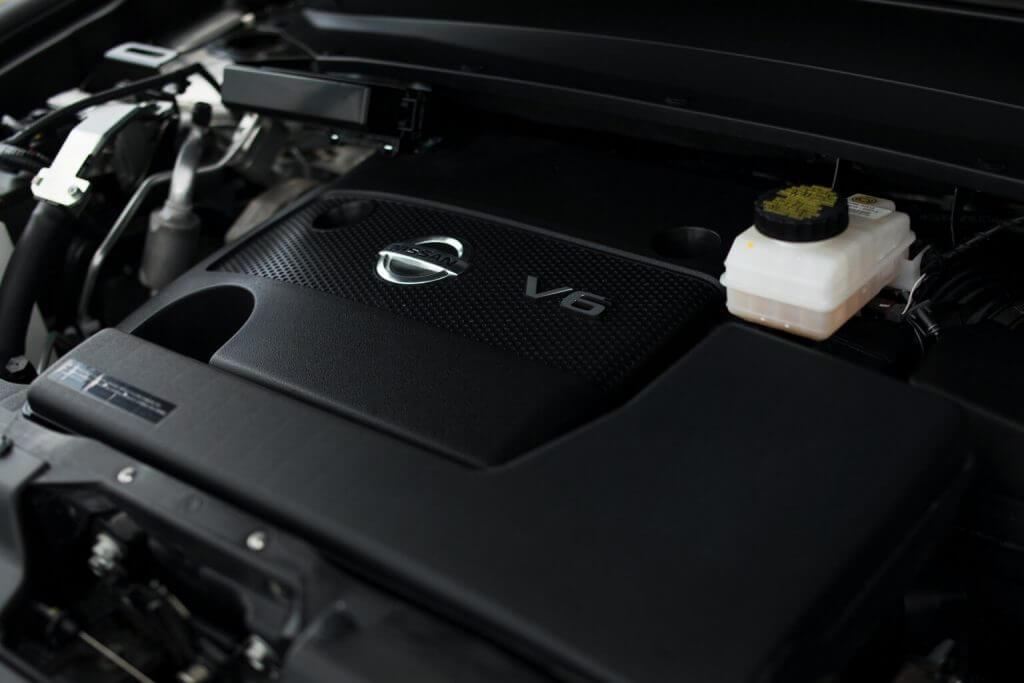 Under the hood Nissan Pathfinder Latam (R52) '2017