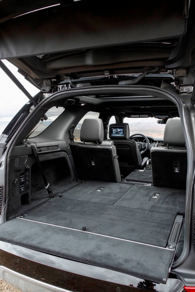 Boot 2017 Land Rover Discovery