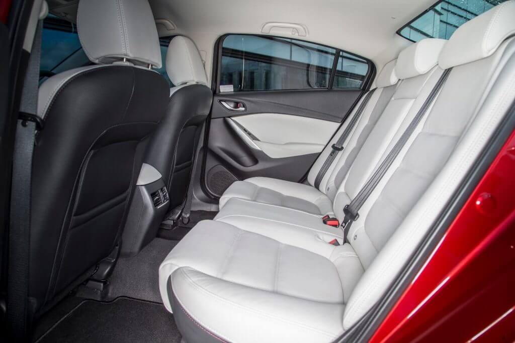 Interior Mazda 6 Sedan 2017