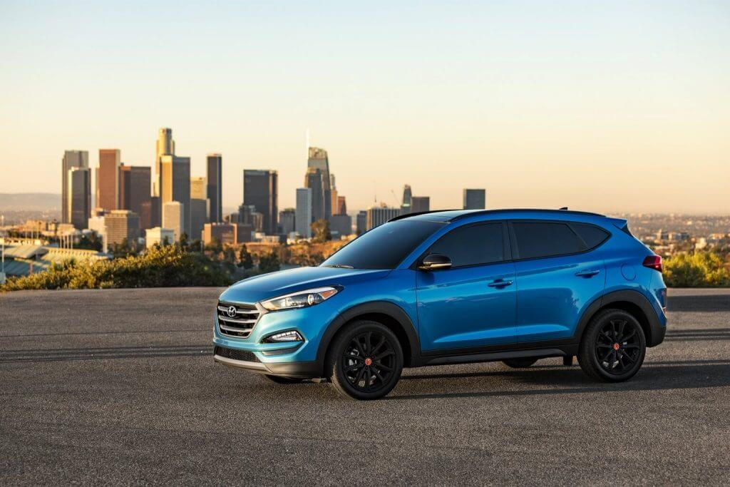 "2017 Hyundai Tucson ""Night"" North America"