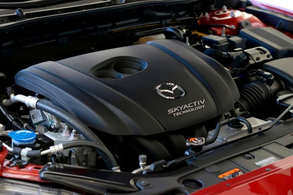 Under the hood Mazda 6 2017
