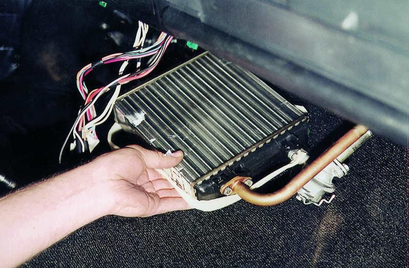 Как понять, что радиатор отопителя неисправен?